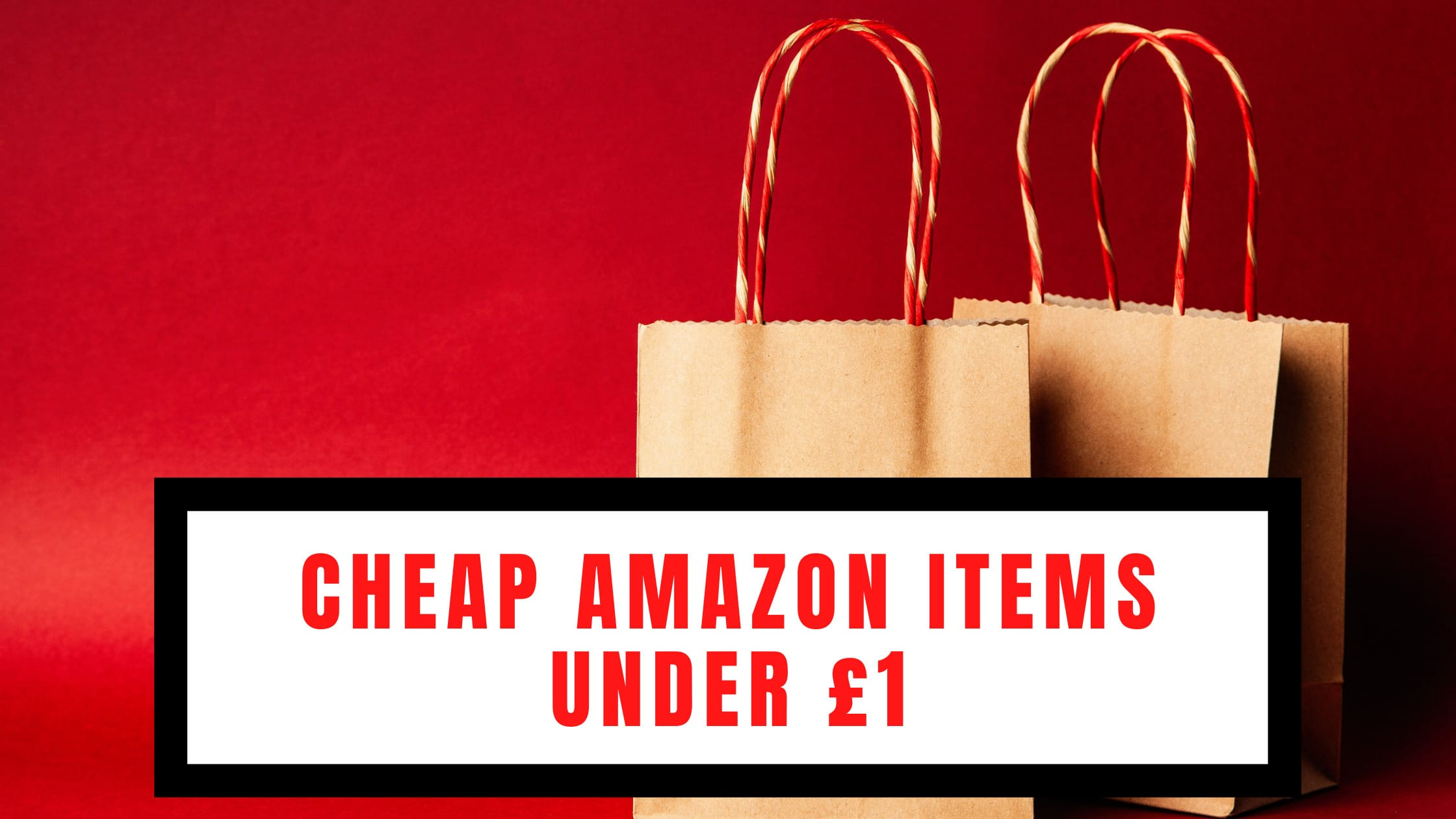 Cheap Amazon Items Under £1