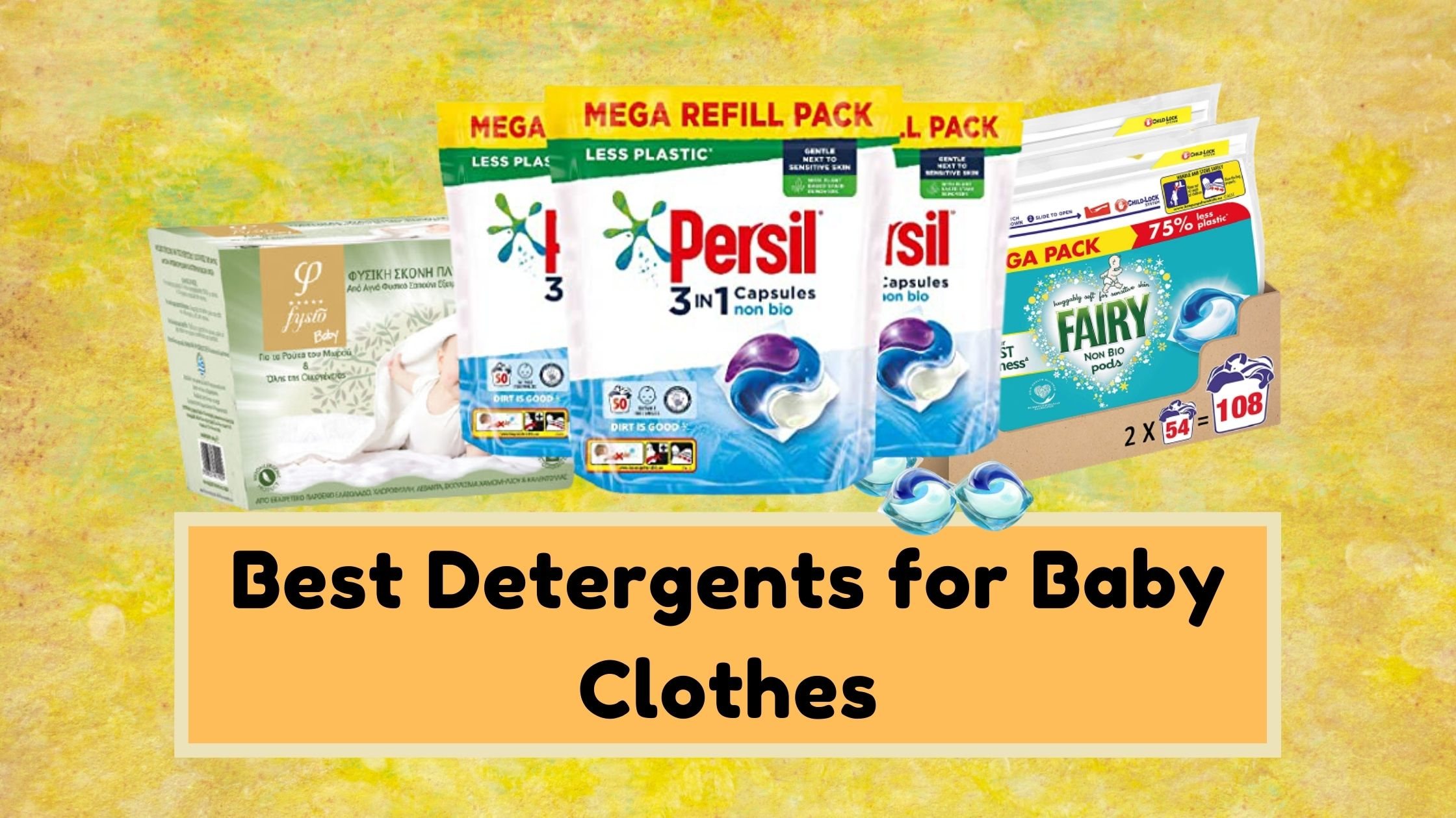 Best Detergents for Baby Clothes